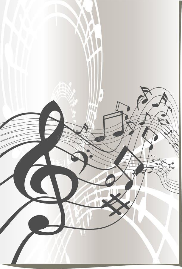 Music symbols design royalty free illustration