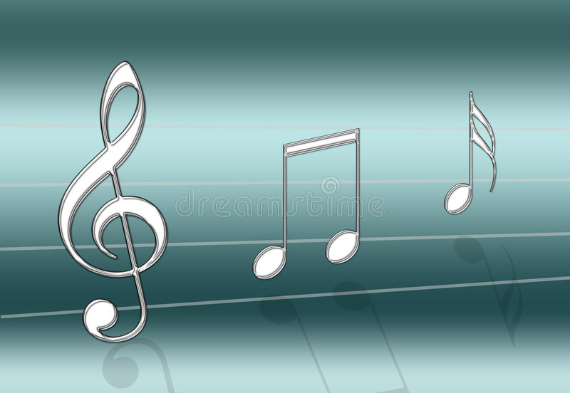 Download Music Teal stock illustration. Image of sings, beat, teal - 2550619