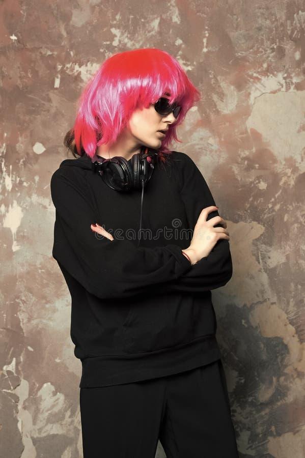 Music, technology, entertainment concept stock image