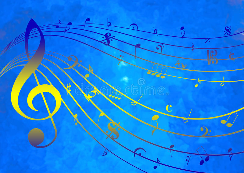 Download Music Template stock illustration. Image of glow, bass - 41454580
