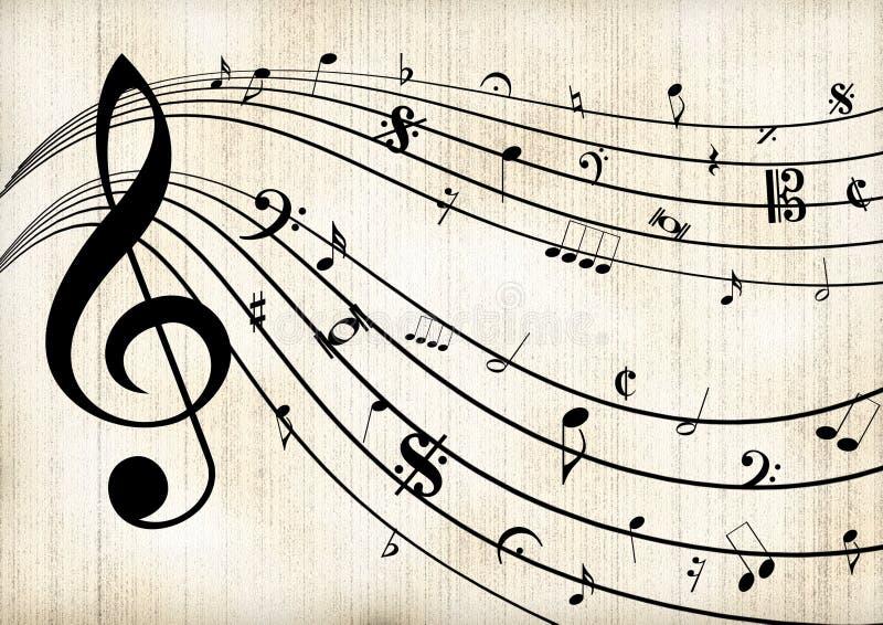 Music Template Stock Illustration