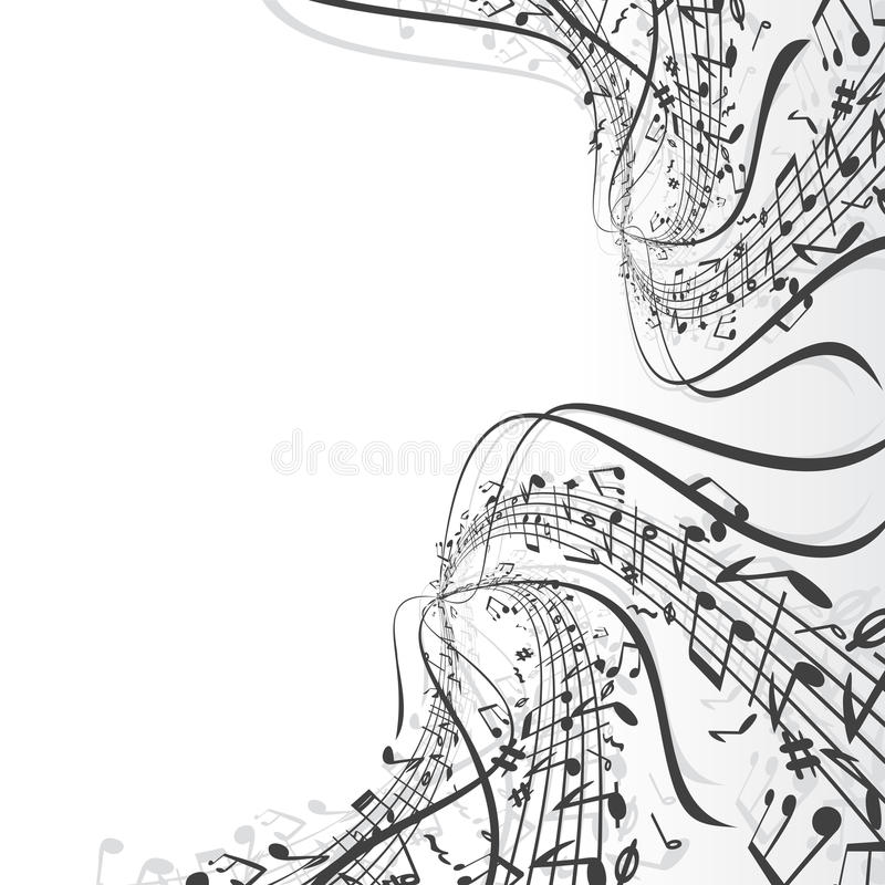 Download Music theme stock vector. Illustration of classic, composer - 14328992