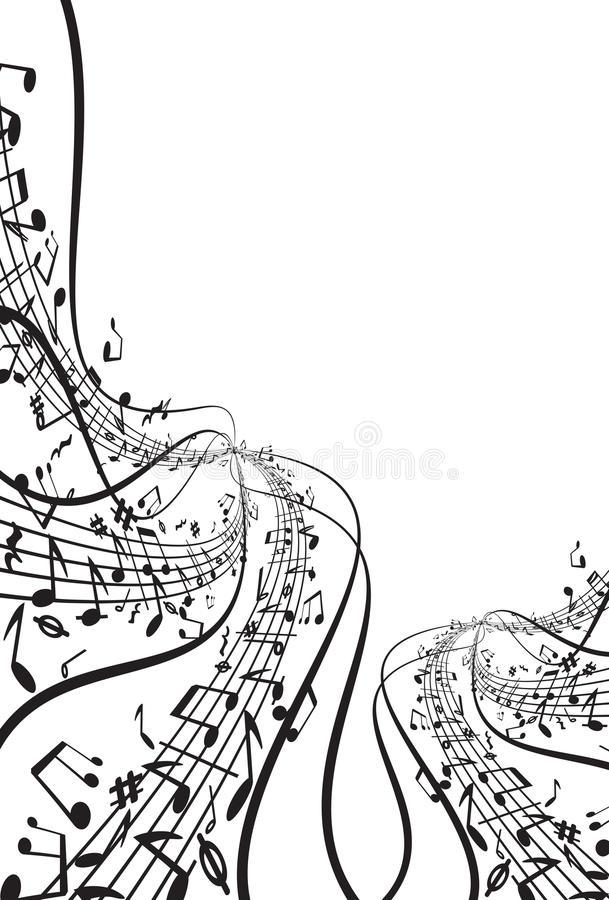 Download Music theme stock vector. Image of grunge, element, modern - 14404323