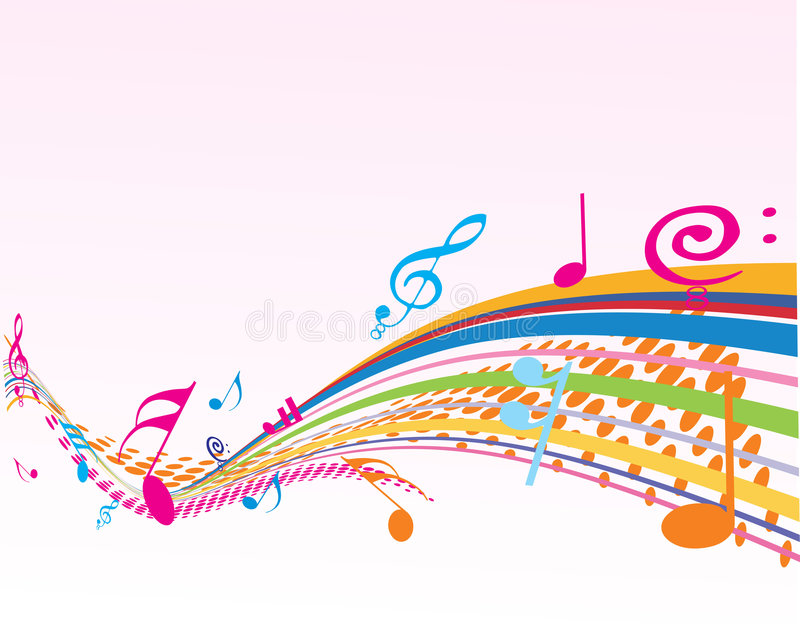 Music theme. Halftone background with Music theme royalty free illustration