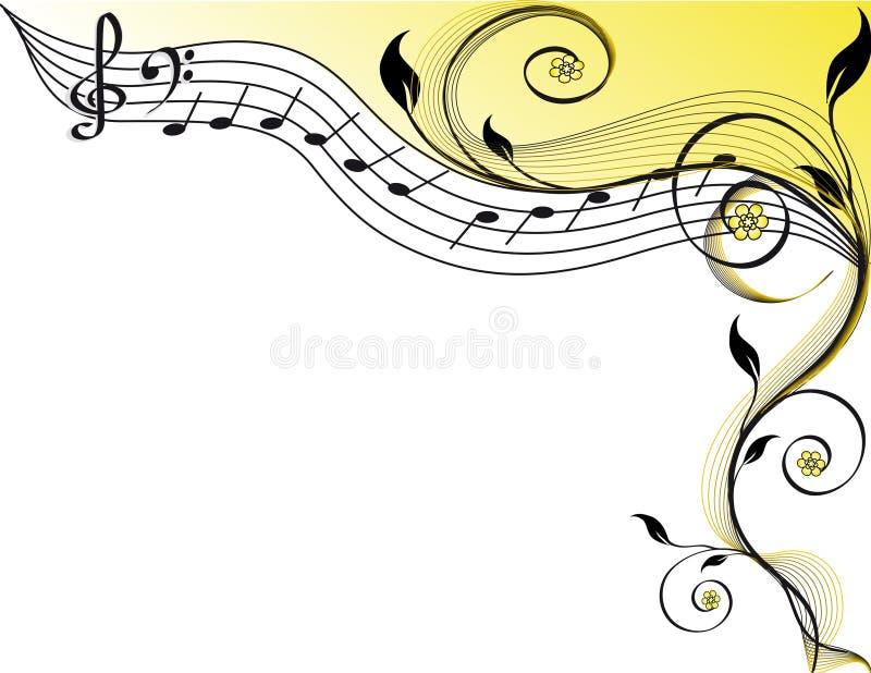 Music theme royalty free illustration