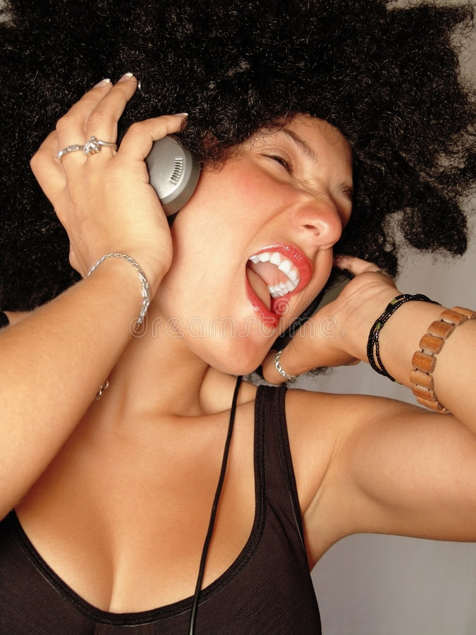 Music time royalty free stock photo