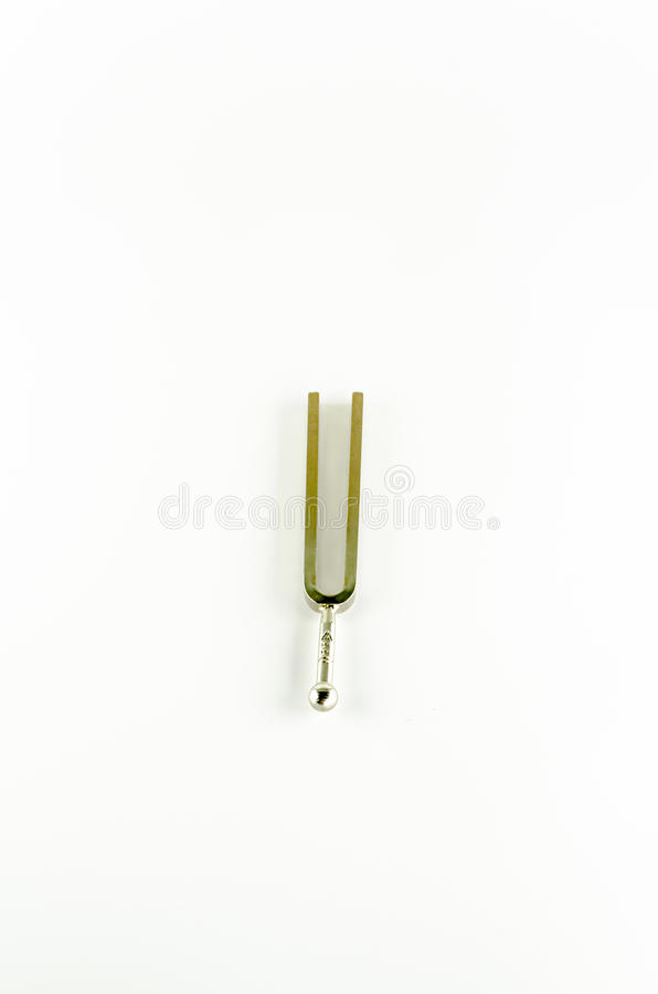 Music tools tuning fork royalty free stock photo