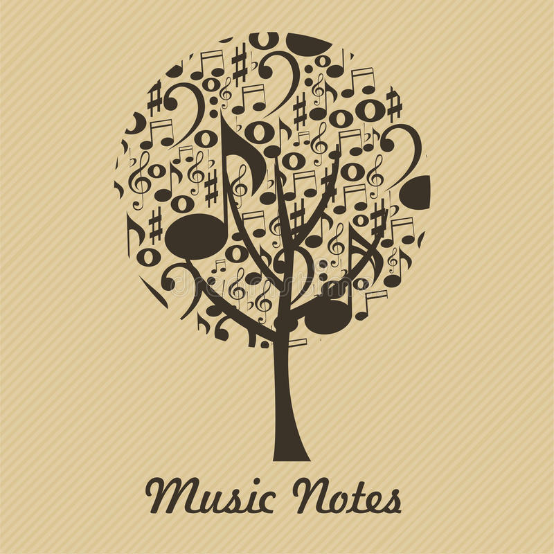 Download Music tree stock vector. Image of graphic, play, object - 32166254