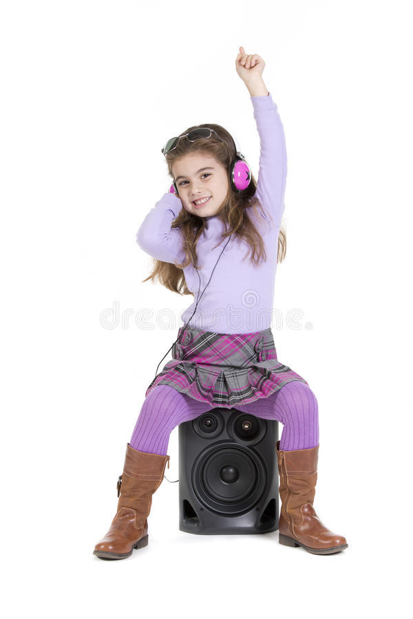 Music up royalty free stock photography