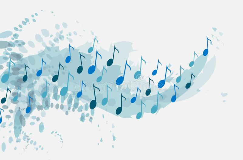 Music vector background. World music day concept. vector illustration