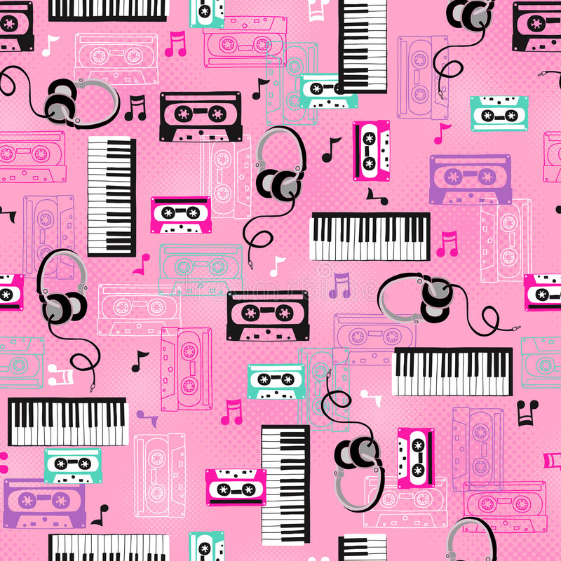 Download Music Vector Seamless Repeat Pattern Stock Vector - Image: 8885114
