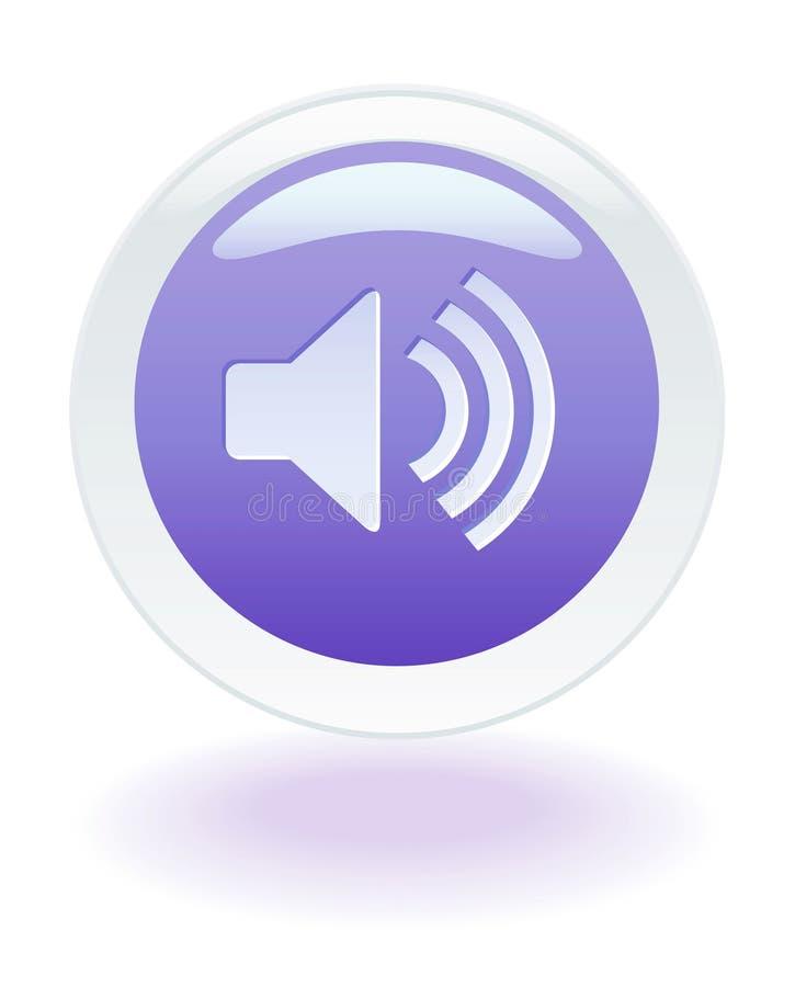 Music Volume icon stock illustration