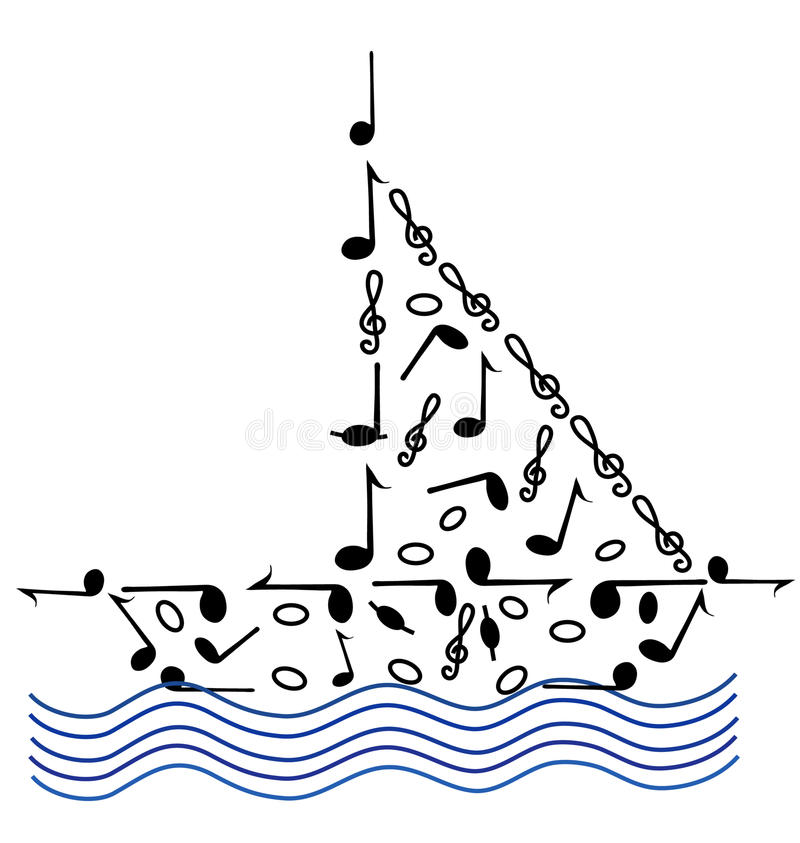 Download Music On The Waves Royalty Free Stock Photo - Image: 10076045