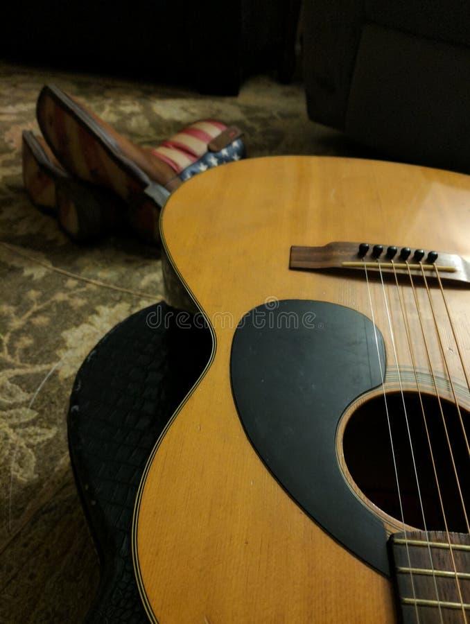 Musica country immagine stock