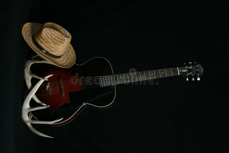 Musica country fotografie stock