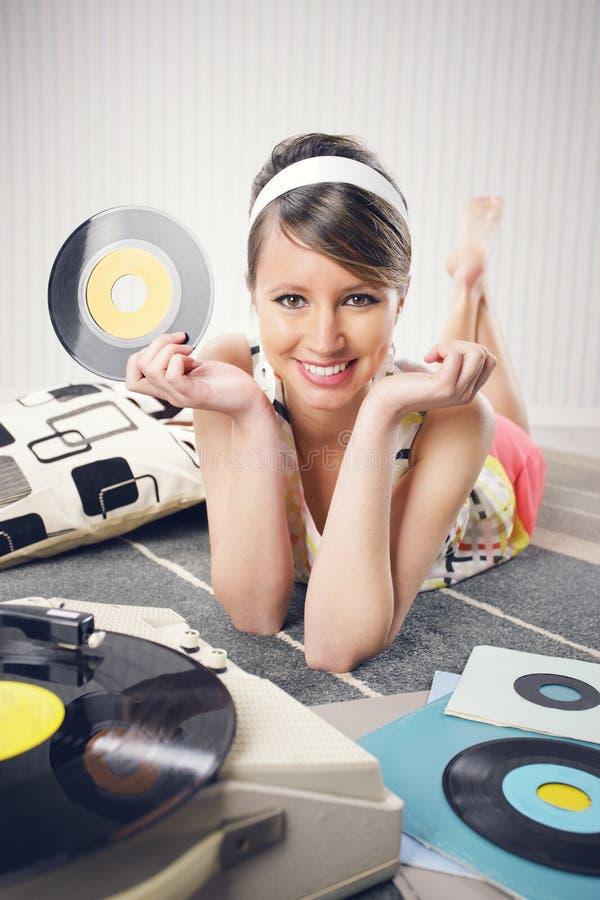 Musica d'annata fotografia stock libera da diritti