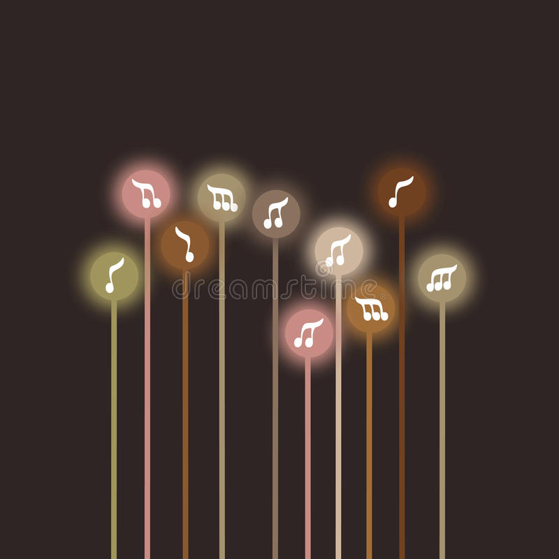Musica d'annata illustrazione vettoriale