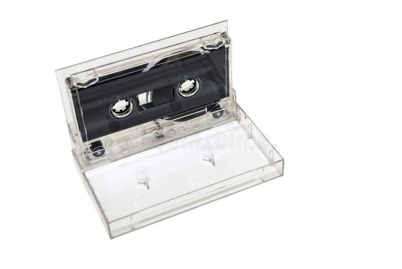 Musica della cassetta audio isolata immagine stock libera da diritti