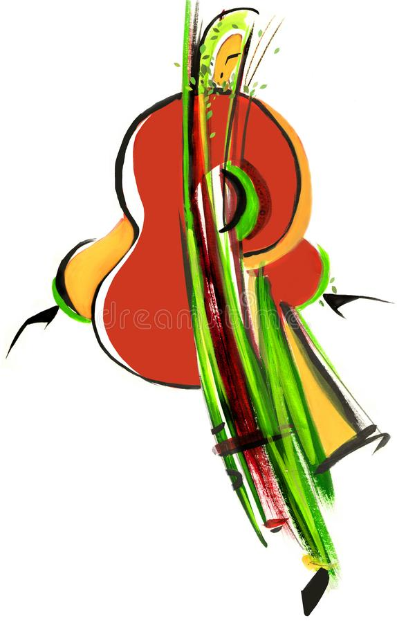 Musica della molla royalty illustrazione gratis