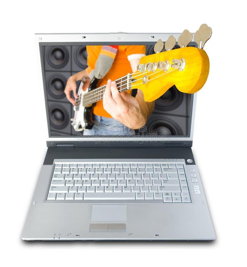 Musica di Digitahi immagini stock libere da diritti