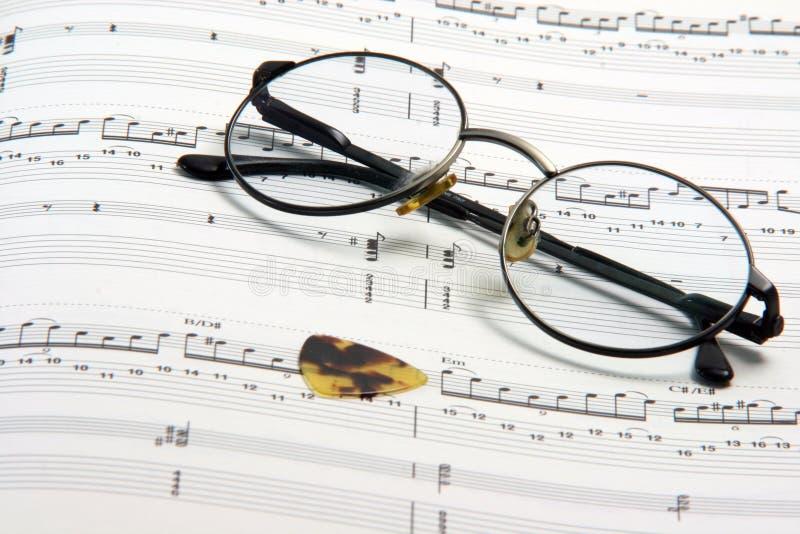 Musica di studio immagini stock libere da diritti