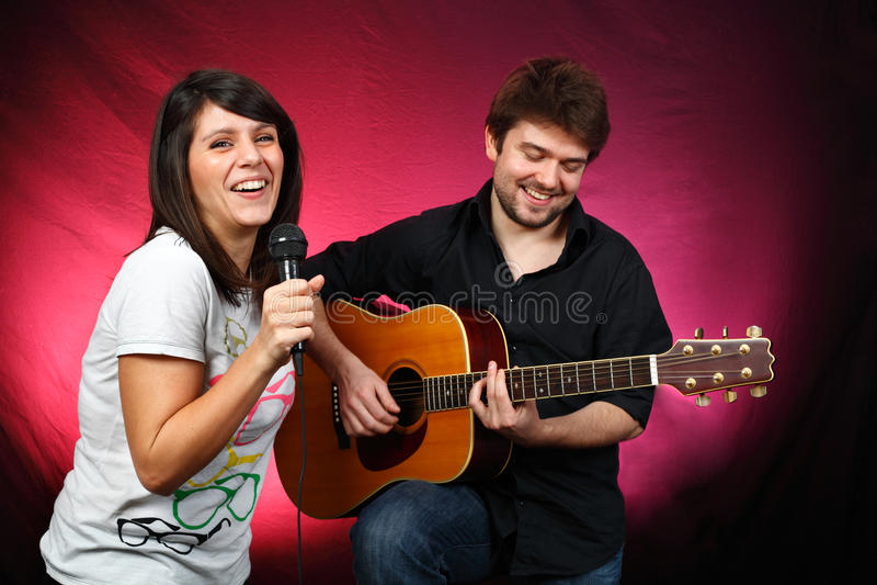 Musica in diretta fotografia stock libera da diritti