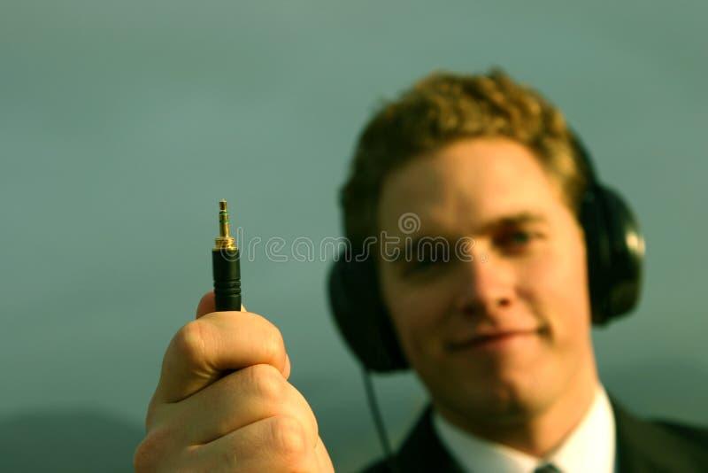 Musica a disposizione fotografia stock libera da diritti