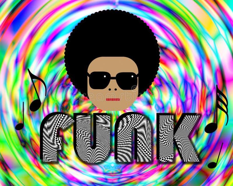 Musica funky illustrazione vettoriale