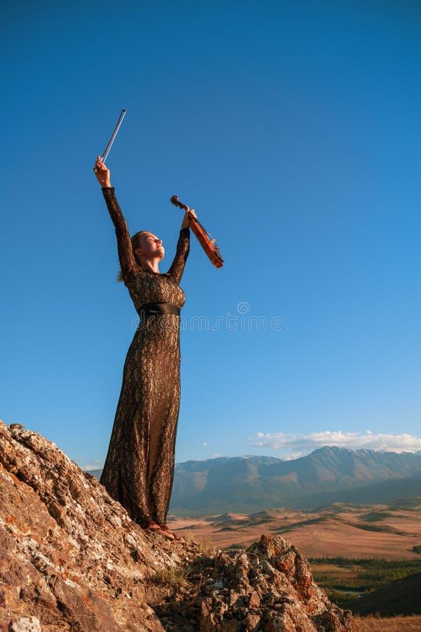 Musica per eternità fotografia stock libera da diritti