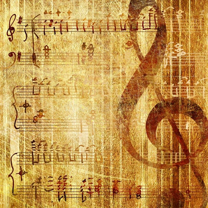 Musical illustration de vecteur