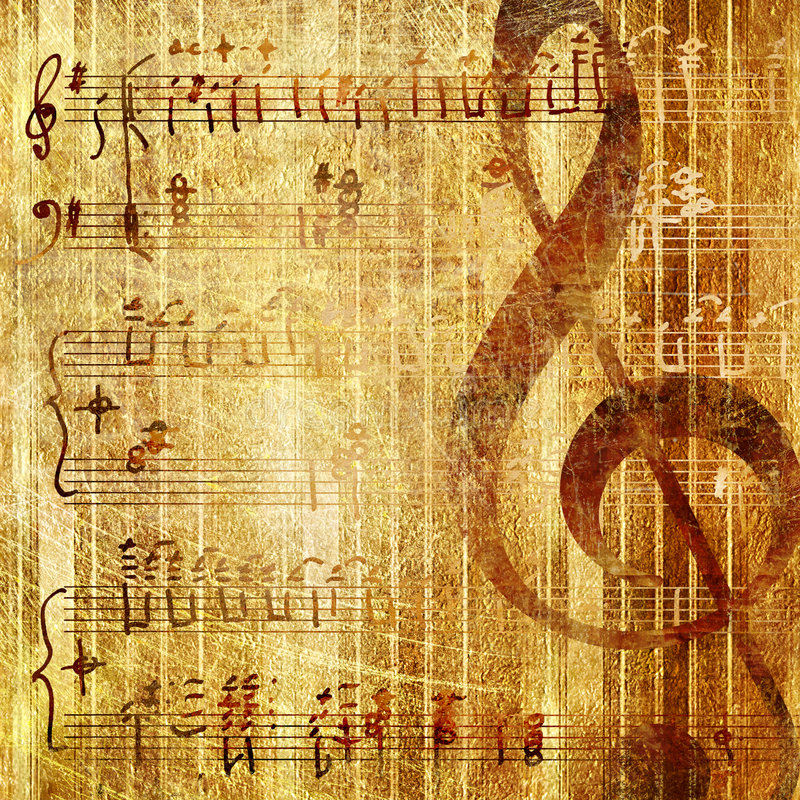 Musical vector illustration