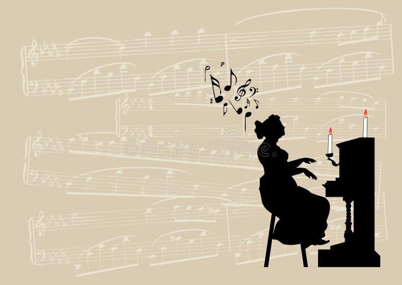 Musical ilustração stock