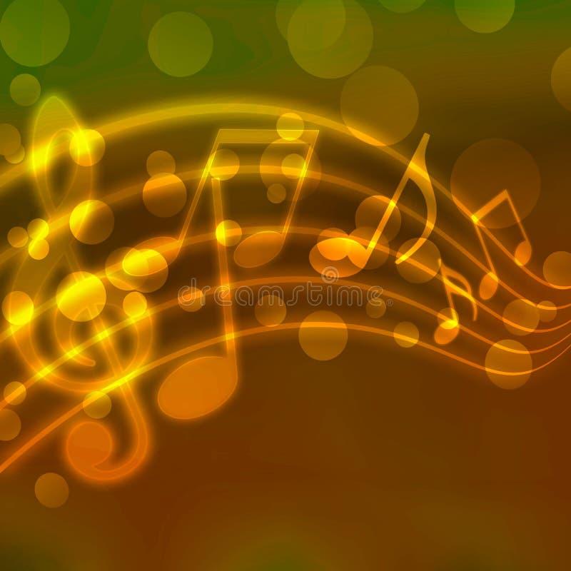 Download Musical background stock illustration. Illustration of music - 12390402