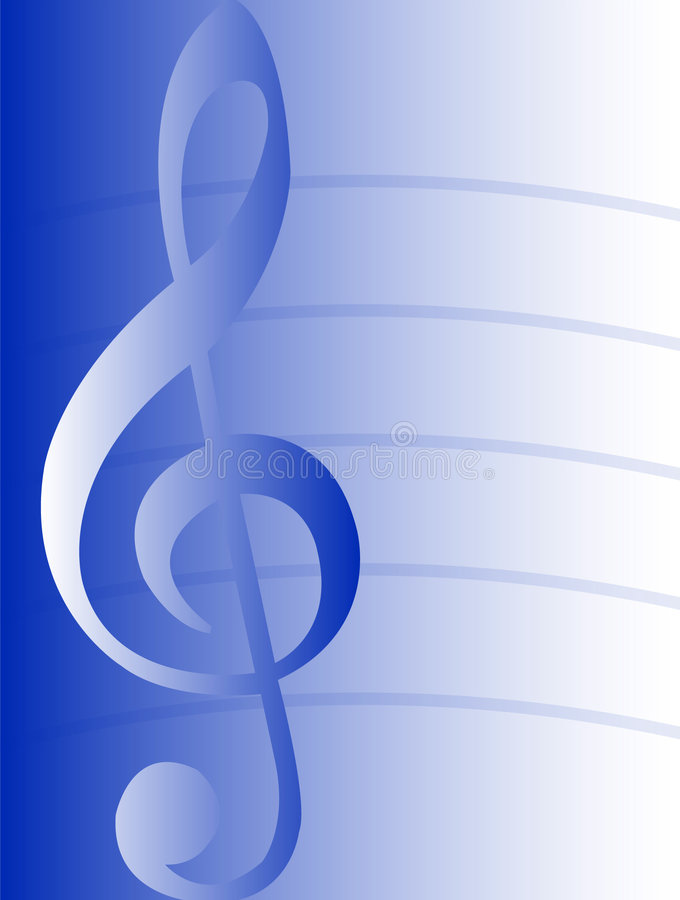 Free Musical Background-Blue/eps Stock Photo - 538610