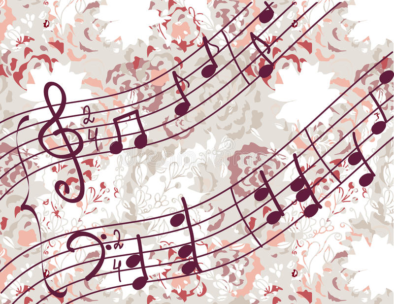 Download Musical Background With Melody Stock Photos - Image: 25693093