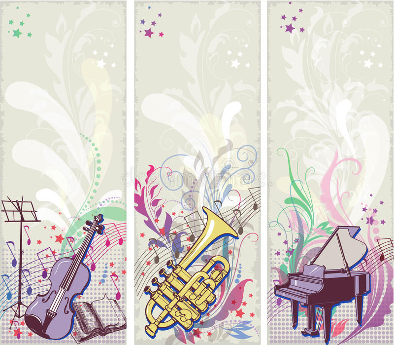 Download Musical backrgounds stock vector. Image of piano, transparent - 30458165