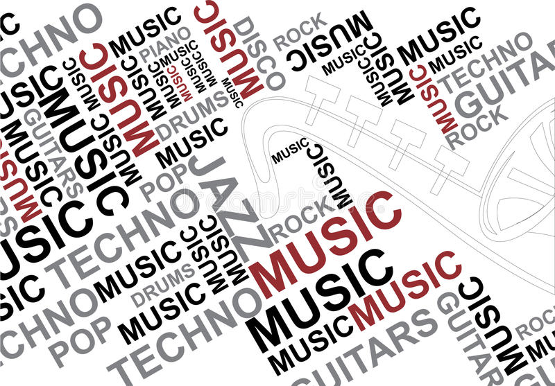 Musical Blast Royalty Free Stock Photography