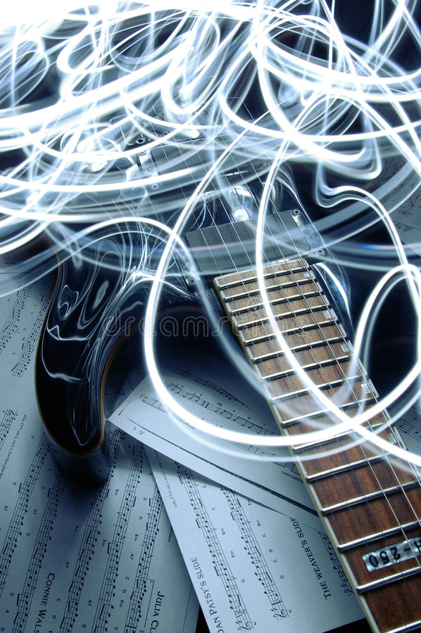 Musical blast stock photo