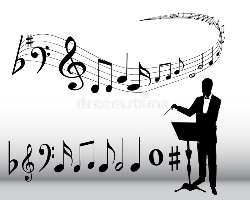Download Musical composition stock vector. Image of rhythm, tone - 5155048