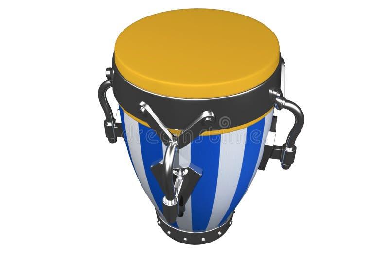 Musical drum stock image