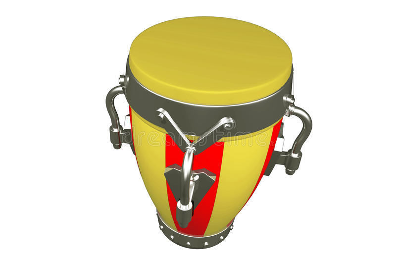 Musical drum royalty free stock photography