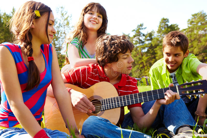 Musical entertainment royalty free stock photography