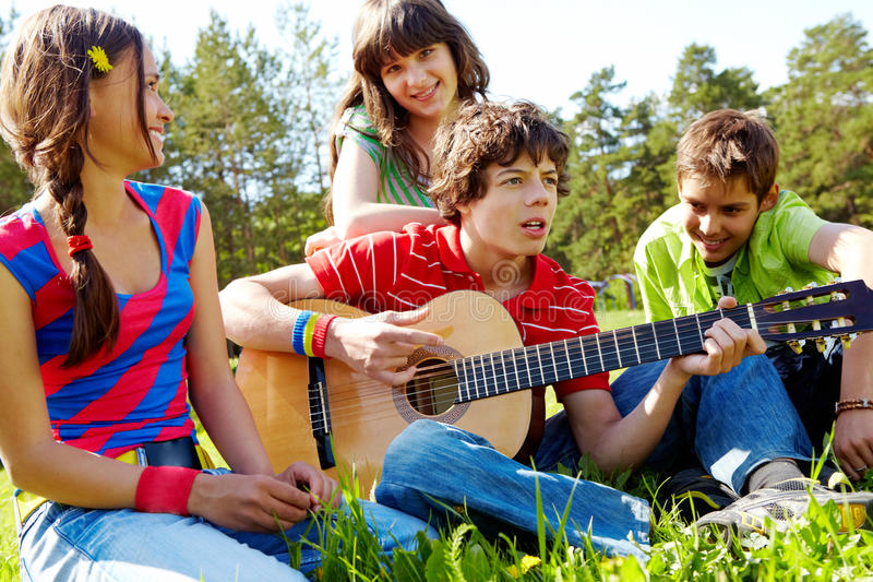 Musical entertainment royalty free stock photo