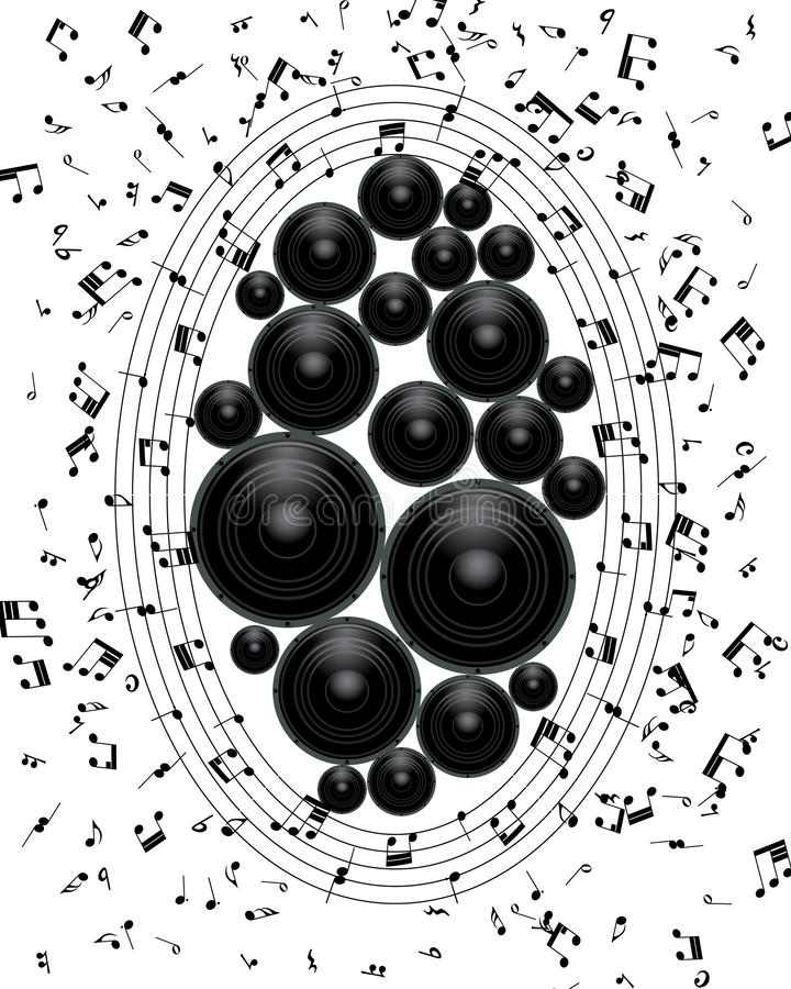 Download Musical grunge background stock vector. Illustration of musical - 32197231