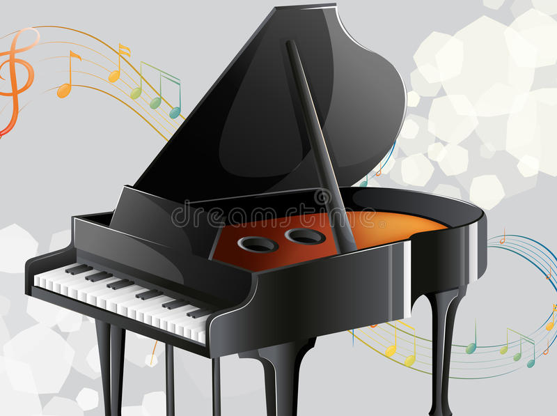 A musical instrument royalty free illustration