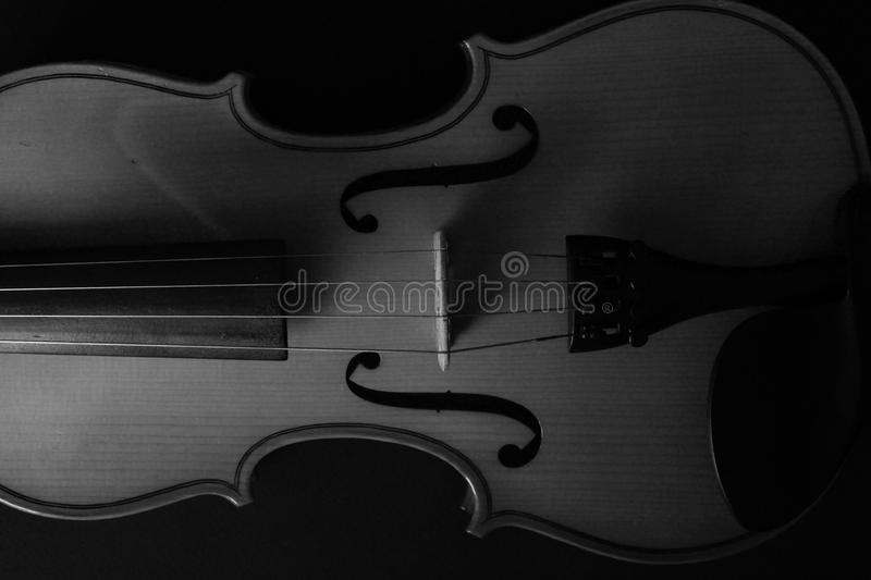 Musical instrument violin. Ancient violin. Stringed instrument. royalty free stock photography