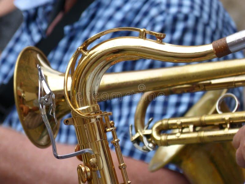 Musical Instrument, Wind Instrument, Brass Instrument, Trumpet stock image