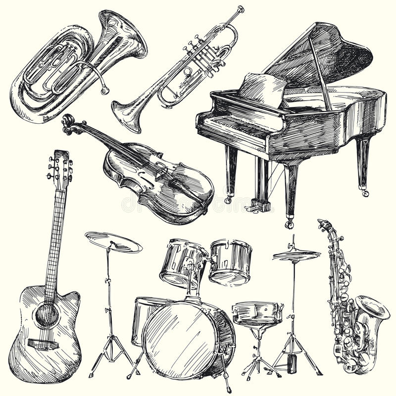 Free Musical Instruments Stock Images - 24378604