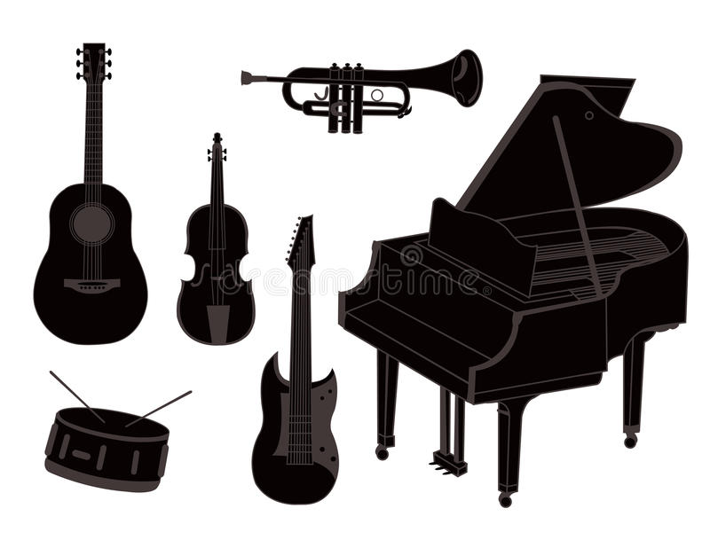 Download Musical Instruments Royalty Free Stock Photo - Image: 25318065