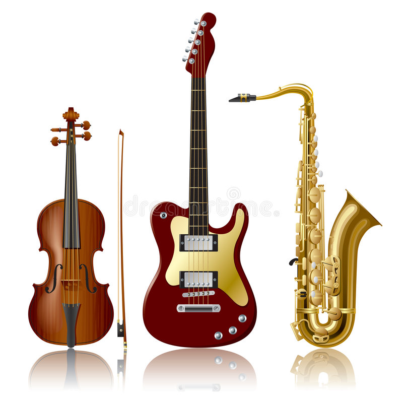 Download Musical Instruments stock vector. Image of instrument - 4953918